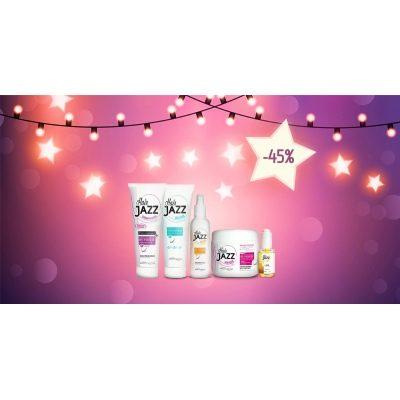 Uudenvuoden myynti! HAIR JAZZ  shampoo, hoitoaine, lotion, mask, serum -  nopeuttaa hiustesi kasvua!