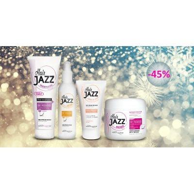 Uudenvuoden myynti! HAIR JAZZ shampoo + lotion +mask +kerma!