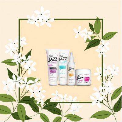 Kevään myynti! HAIR JAZZ:shampoo+ hoitoaine+ lotion+ mask