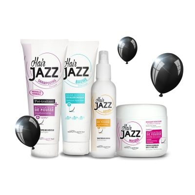 BLACK FRIDAY! HAIR JAZZ:shampoo+ hoitoaine+ lotion+ mask