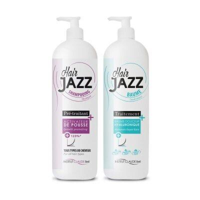 HAIRJAZZ shampoo ja hoitoaine - voi lisätä hiustesi kasvua!