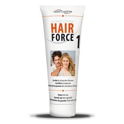 HAIR FORCE 1 Shampoo ehkäisee hiustenlähtöä!