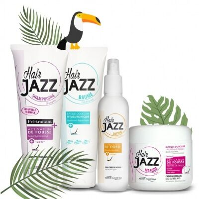 Kesäale! HAIR JAZZ:shampoo+ hoitoaine+ lotion+ mask