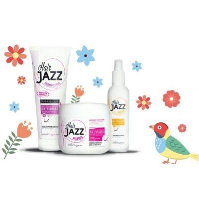 Erikoistarjous! HAIR JAZZ  shampoo ja lotion + mask!