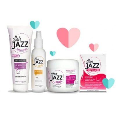 Ystävänpäivä myynti! HAIR JAZZ shampoo + lotion +mask +vitamiinivalmiste