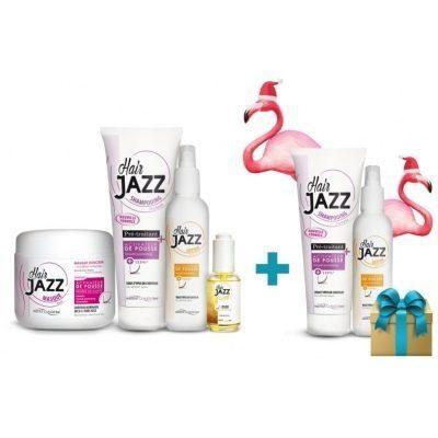 Hanki shampoo ja lotion lahjaksi! HAIR JAZZ shampoo, lotion, mask, serum + saat tämän ilmaiseksi (shampoo + lotion)!